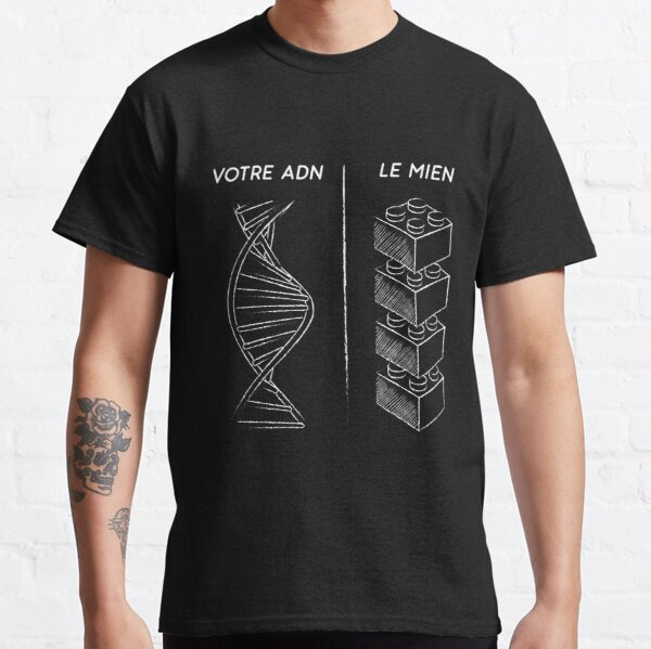 DNA of the Danish brick fan - without borders Classic T-Shirt