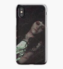 Gothic sleeping Beauty iPhone Case/Skin