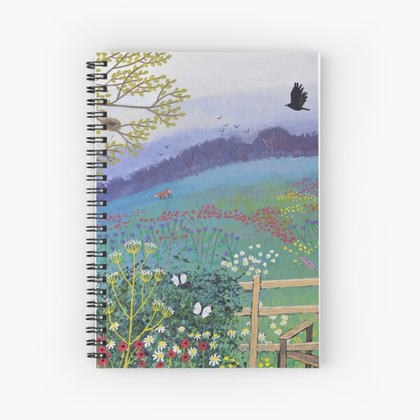 Over the Stile Spiral Notebook