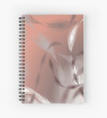 CoralFeather Wind Spiral Notebook