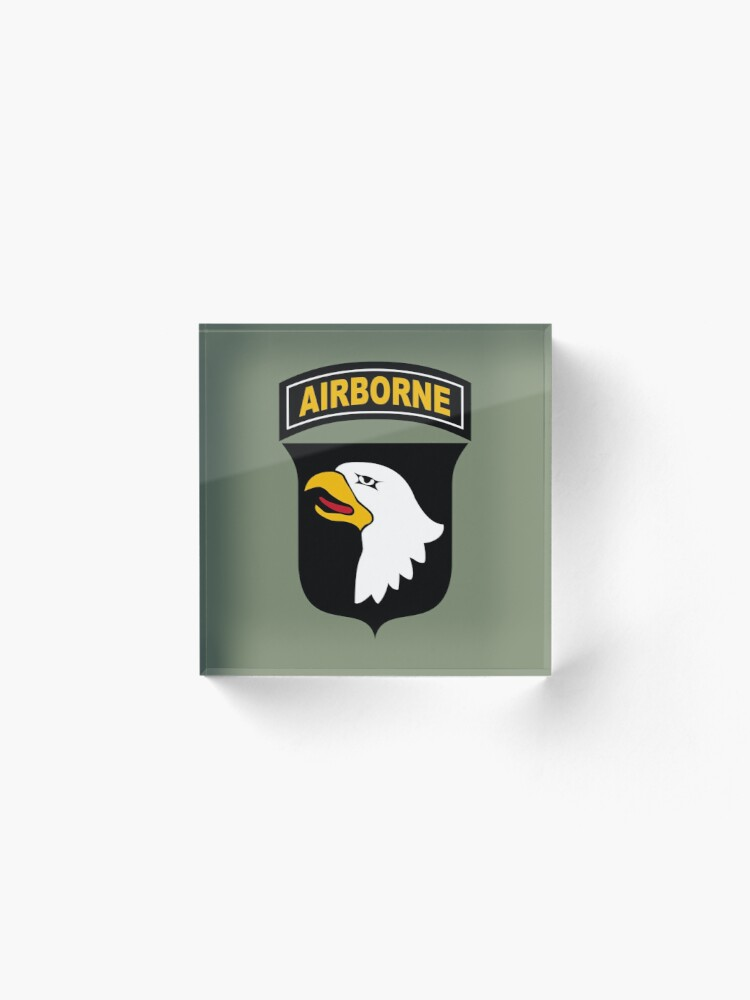 Alternate view of 101st Airborne Division (US Army) Acrylic Block