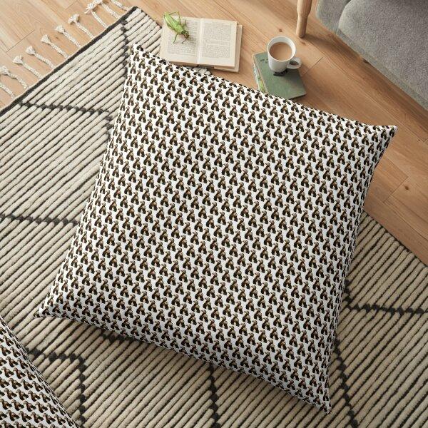 Puffins Floor Pillow