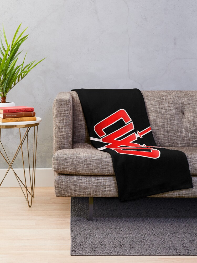 Alternate view of CWC Throw Blanket