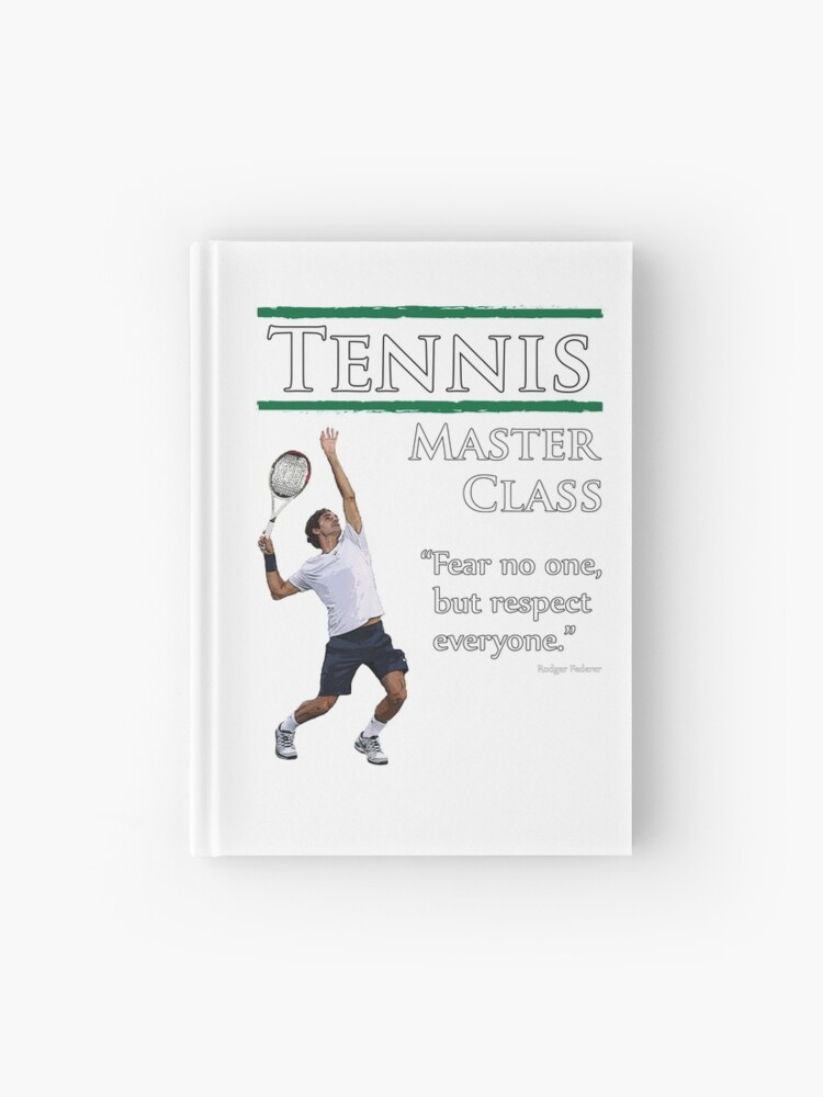 Tennis Master Class Collection Comprising A Rodger Federer Quote
