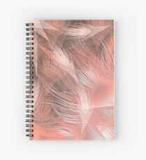 CoralFeather Sunrise Spiral Notebook