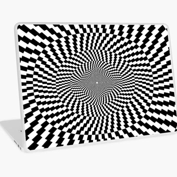 Optical Illusion, Visual Illusion, Physical Illusion, Physiological Illusion, Cognitive Illusions Laptop Skin