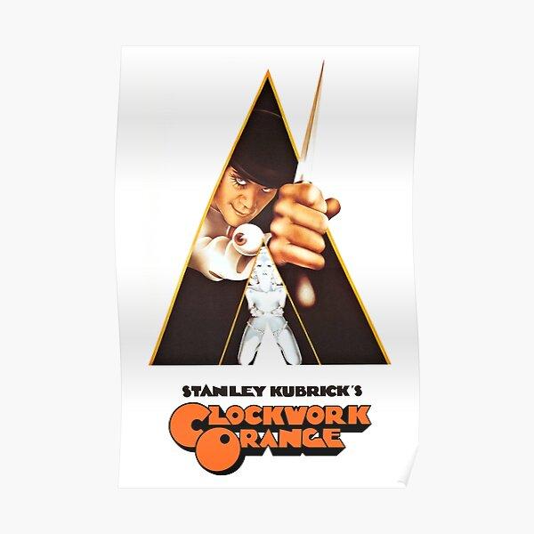Poster Orange mécanique Poster