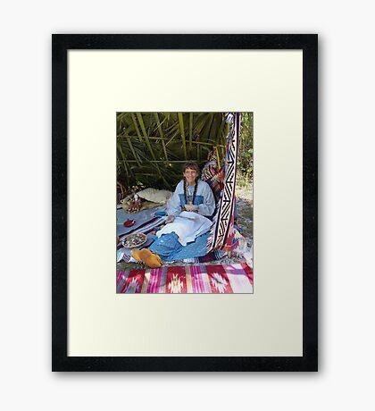 Rosalee Lane, Creek Potter, Panama City, FL Framed Print