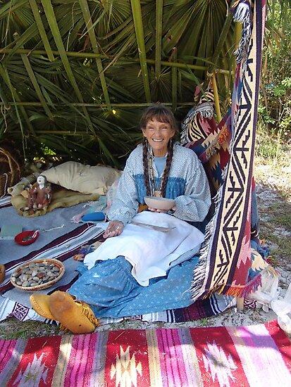 Rosalee Lane, Creek Potter, Panama City, FL by May Lattanzio