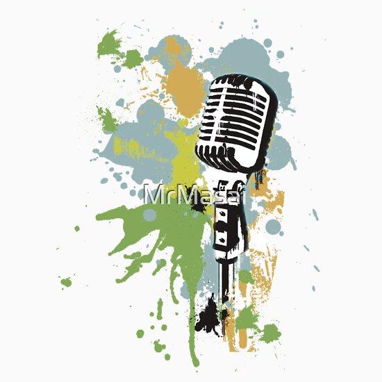 TShirtGifter presents: Old Skool Microphone