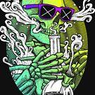 «Enciéndelo - Gradiente de cal» de Garyck Arntzen