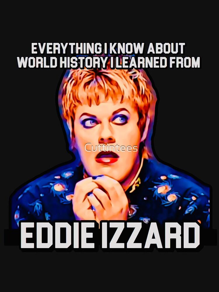 Eddie Izzard, History Teacher by Cuttintees