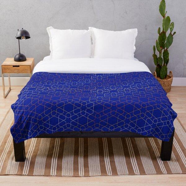 Arabian night pattern Throw Blanket