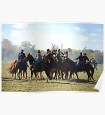 Fighting it Out On Horseback 2 Poster