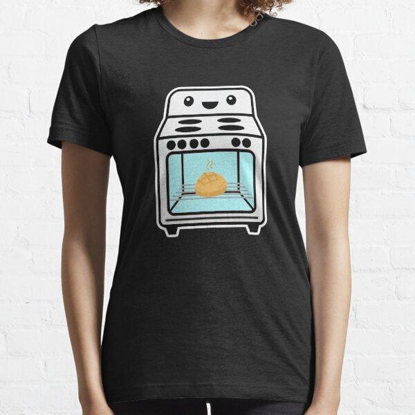 Pan adentro sobre el nuevo anuncio del embarazo del bebé Camiseta esencial