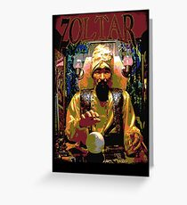 BIG - Zoltar Greeting Card