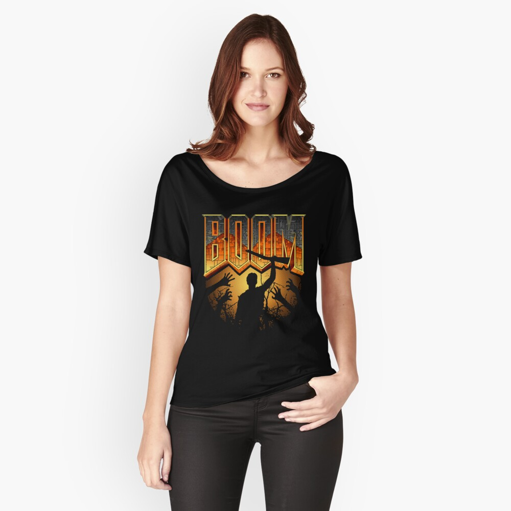 This is my Boomstick T-shirt Women's Relaxed Fit T-Shirt Front