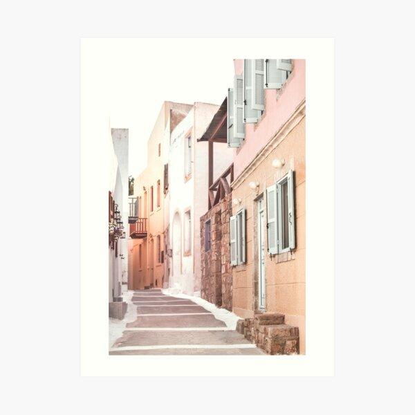 Greek Architecture, Nisyros island Art Print