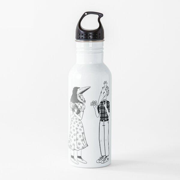 Beetlejuice Couple Barbara and Adam Maitland Water Bottle