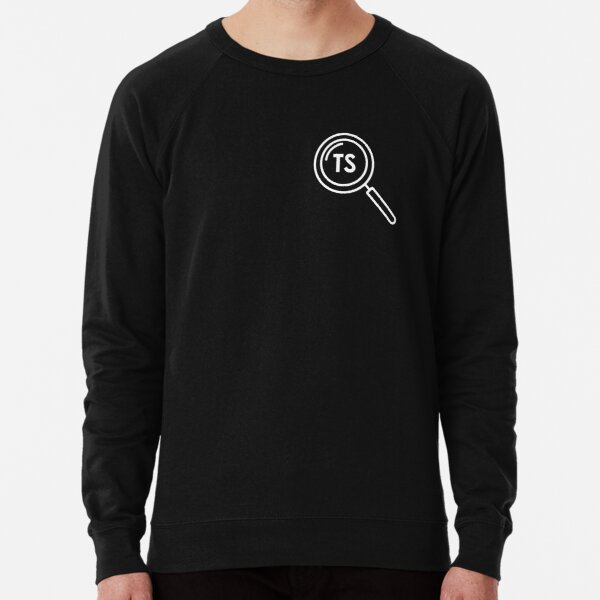 Tiny Stories Logo (White) Lightweight Sweatshirt