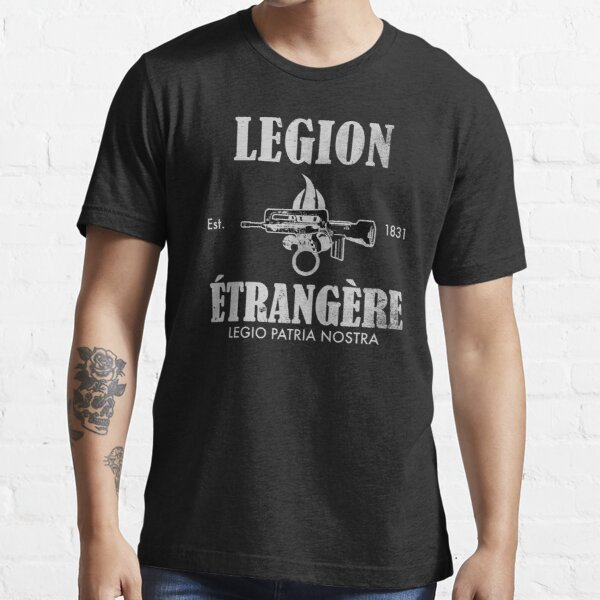 French Foreign Legion (distressed) Essential T-Shirt