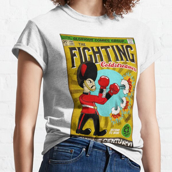 The Fighting Coldstreamers (Vintage Comic) - Coldstream Guards Classic T-Shirt