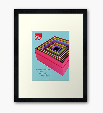 The Nature of Reality Framed Print