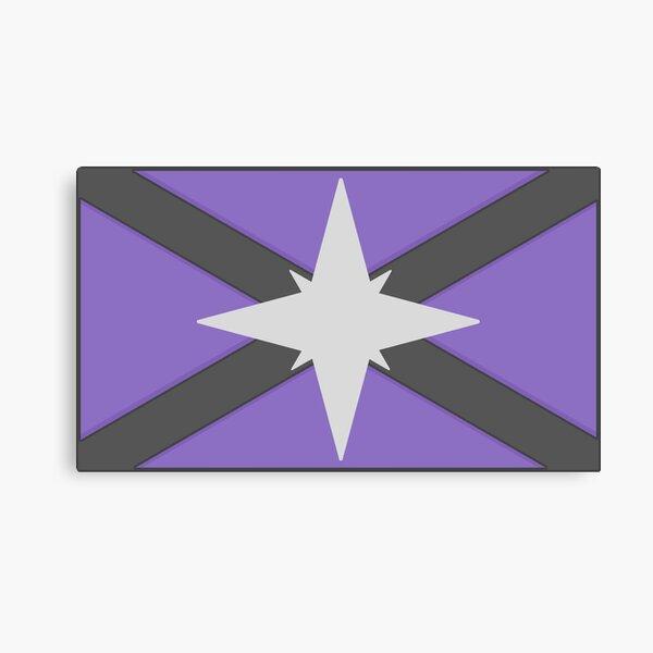 Starbound Human Flag Canvas Print