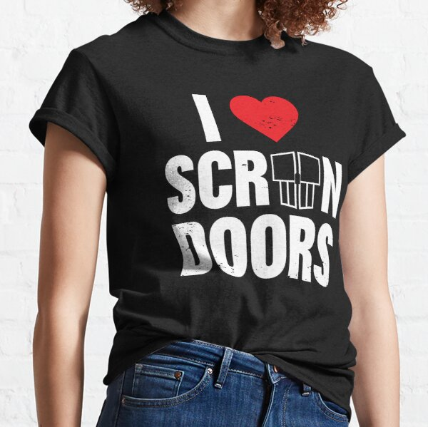 The Lovecraft Tapes I Love Screen Doors Classic T-Shirt