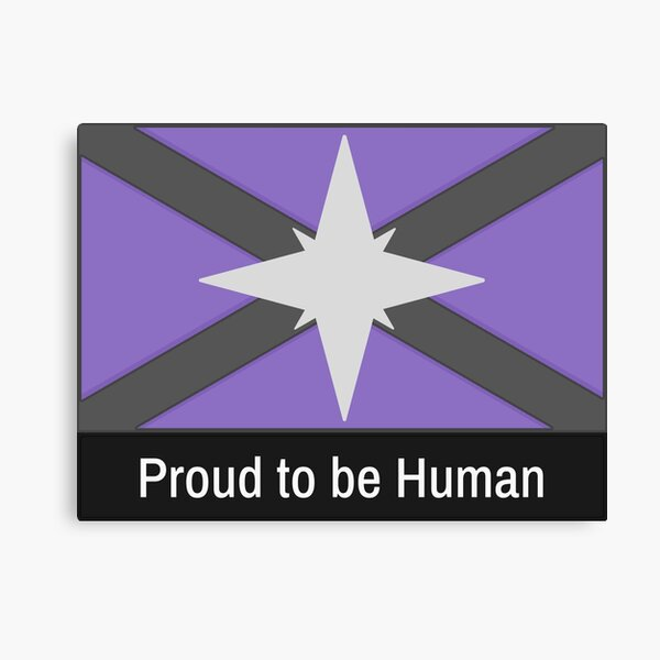 Starbound Proud to be Human Canvas Print