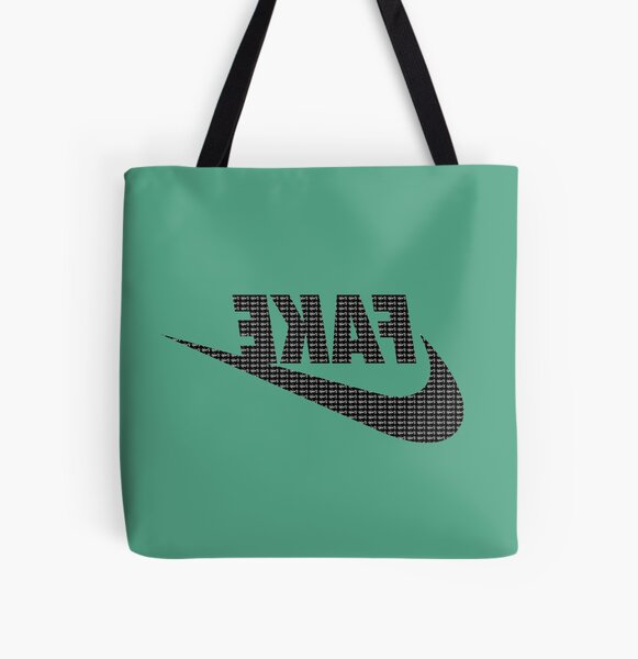 Just Fake It! All Over Print Tote Bag