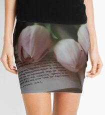 Tulips and Literature Mini Skirt