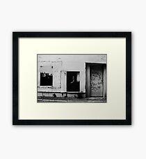 The Alley Wall - Brisbane Framed Print