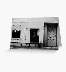 The Alley Wall - Brisbane Greeting Card
