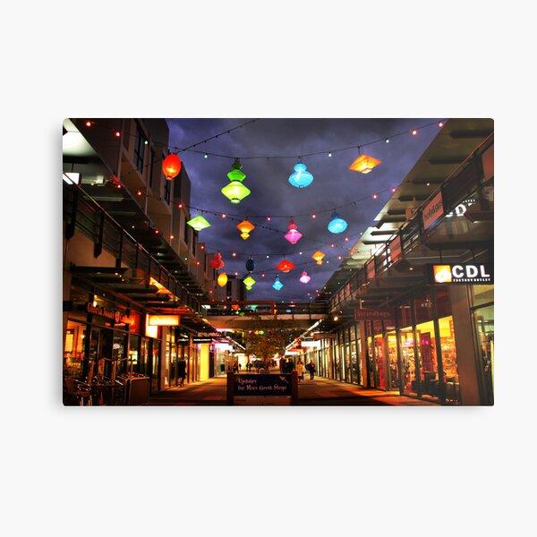 Chinese lanterns - Harbour Town Metal Print