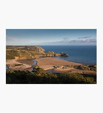 Three Cliffs Bay Gower Photographic Print