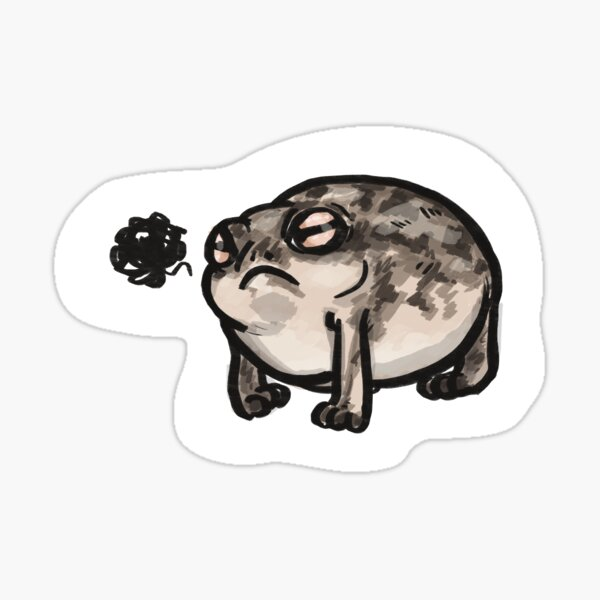 little angry man Sticker