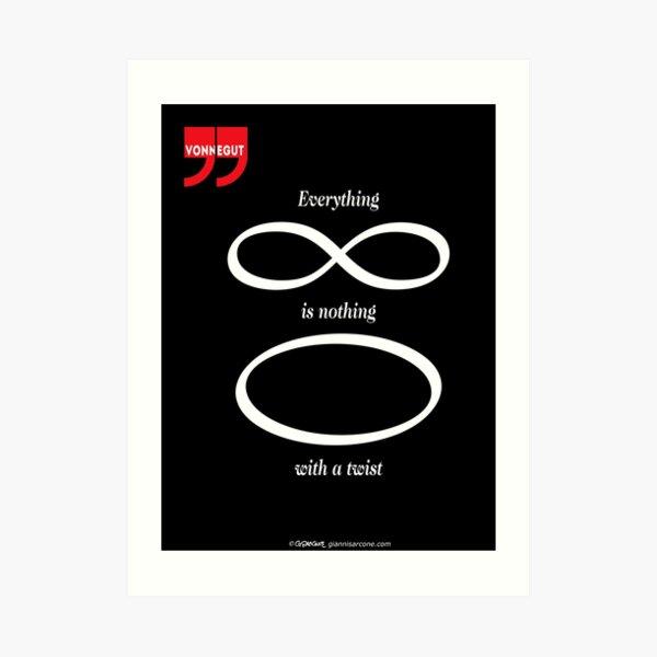 Vonnegut's Quotation Art Print