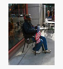 Remember our Heroes are Human Photographic Print