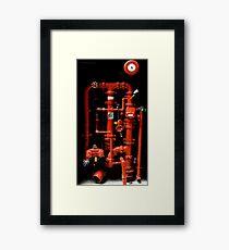 Fire Hydrant - Brisbane Framed Print