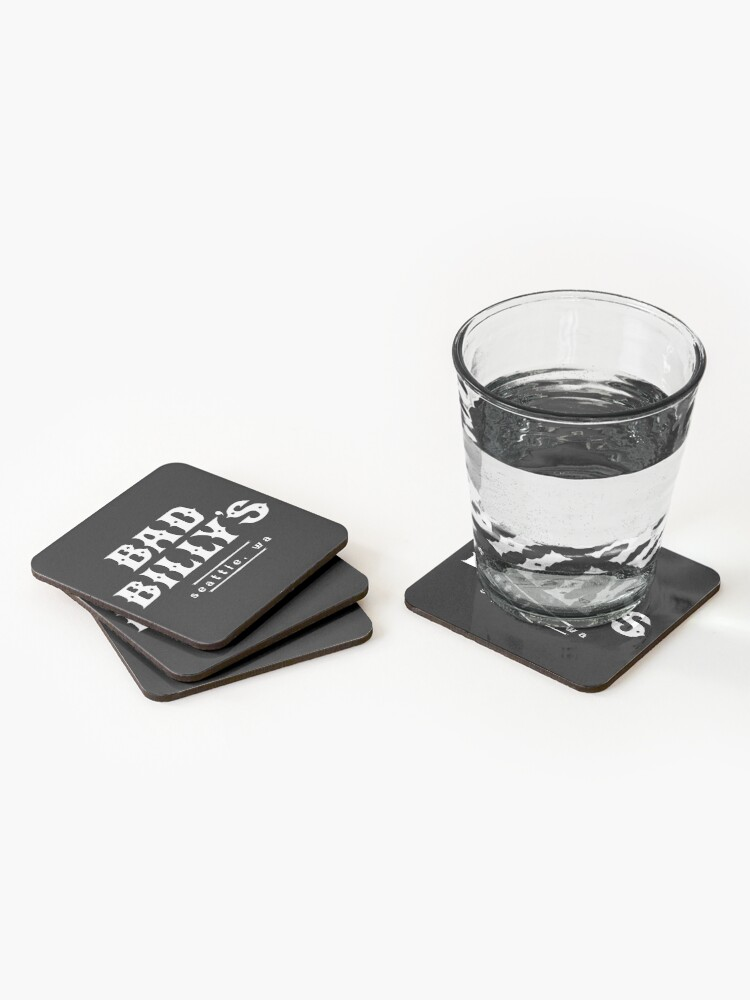Alternate view of Bad Billy's Coasters (Set of 4)