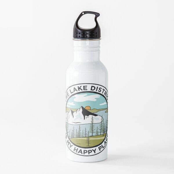 El distrito de los lagos es mi lugar feliz Botella de agua