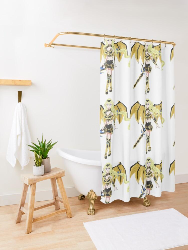zuberg helheim shower curtain by kookygirl8907