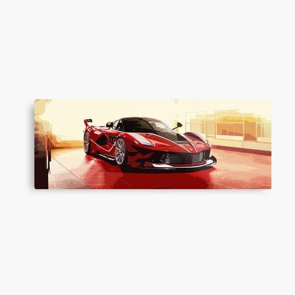 Ferrari FXX K Metal Print
