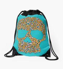 Create Or Die Drawstring Bag