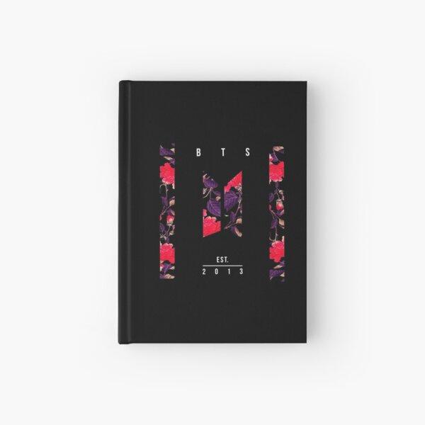 BTS Est. 2013 Vintage Flower Design Hardcover Journal