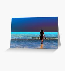 Alone In Love Greeting Card