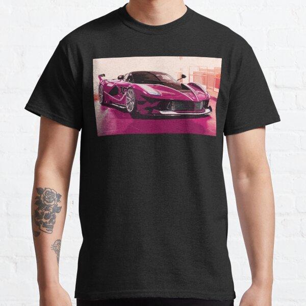 Pink Ferrari FXX K Classic T-Shirt