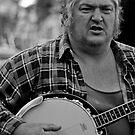 Banjo-man - aka MarkyB by Jordan Miscamble