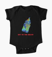 Baby Predator - Get to the Milk!  One Piece - Short Sleeve